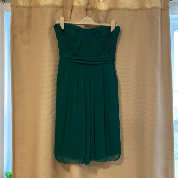 Badgley Mischka Dresses & Skirts - Badgley Mischka Emerald strapless cocktail dress